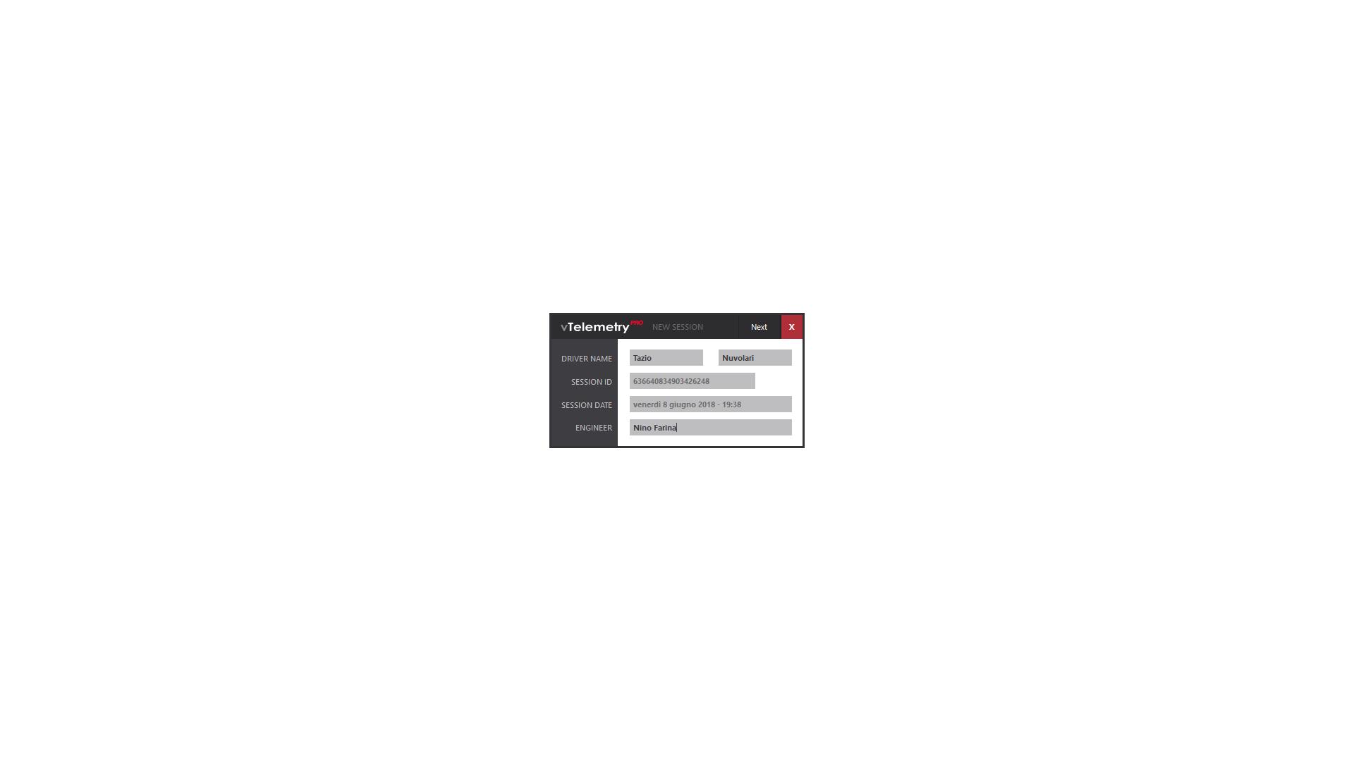 vTelemetry PRO 2018 Software License (Non-Commercial)